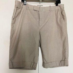 Banana Republic  Martin Fit Casual Striped Shorts